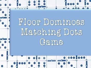 Floor Dominoes Matching Dot Game