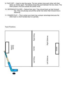 Physical Education - Floor Hockey Studyguide