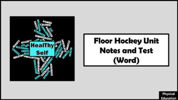 Floor Hockey Unit Notes and Test