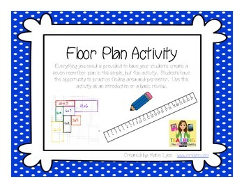 Floorplan Worksheets Teaching Resources Teachers Pay Teachers