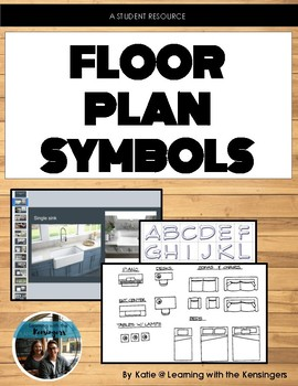Floor Plan symbols: student resource by Learning with the