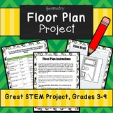 Floor Plan w/ Real Life Budget Sheet- Great STEM Project U