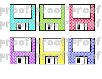 Floppy Disc Clip Art