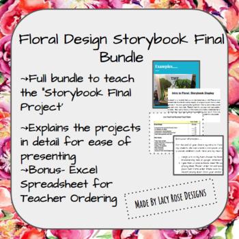 Floral Design Storybook Final Project Bundle