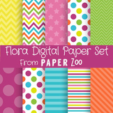 Flora Digital Paper Set