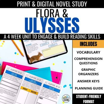 Flora & Ulysses Foldable Novel Study Unit