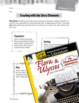 Flora & Ulysses: The Illuminated Adventure Studying The Story Elements