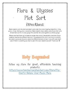 Flora and Ulysses Plot Elements Sort - Events and Details
