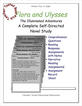 Flora and Ulysses - The Illuminated Adventures: A Complete Novel Study