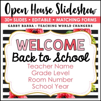 Floral Back to School PowerPoint