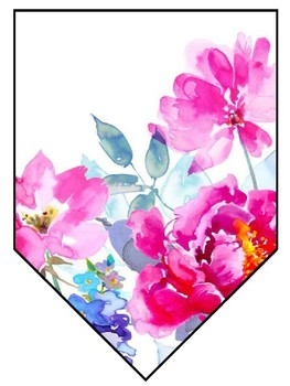 Floral Banner Classroom Decor