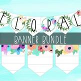 Floral  Banner Bundle By Taracotta Sunrise