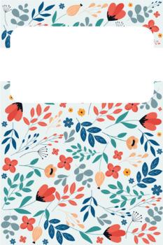 Floral Binder Covers