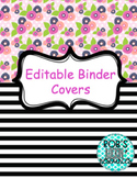 Floral Binder Covers *GROWING*