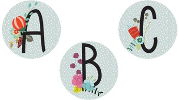Floral Boggle & Winter Bunting