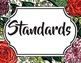 Floral Bulletin Board Labels