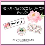 Floral Classroom Bundle