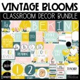 Floral Classroom Decor - Vintage Blooms