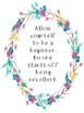Floral Classroom Quotes