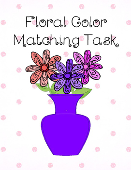 Floral Color Matching Task