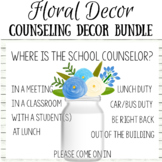 Floral Counseling Decor