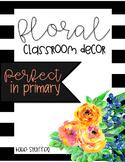 Floral Decor Pack