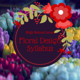 Floral Design Floriculture Syllabus