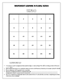Floral Design Independent Learning Bingo