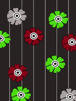 Floral Digital Background Paper