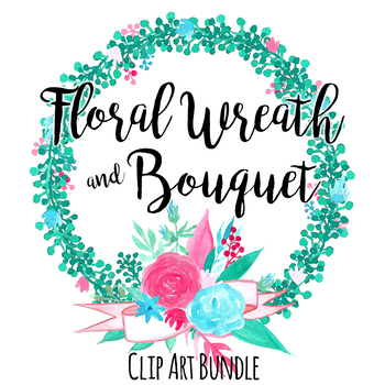 Floral Wreath and Bouquet