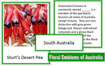 Floral Emblems of Australia
