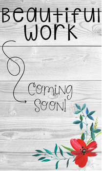 Floral Farmhouse- Beautiful Work Coming Soon