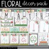 Floral Classroom Decor