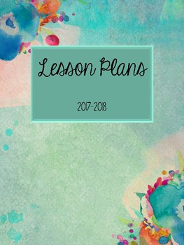 Floral Lesson Plan- ECSE Version