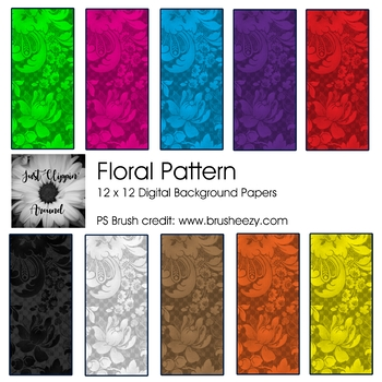 Floral Pattern Backgrounds
