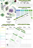 Floral Planner Template