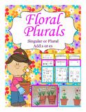Floral Plurals Singular & Plural Center & Pages Free Sample