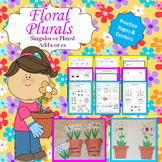 Floral Plurals (Singular or Plural, Add s or es) L.K.1.C