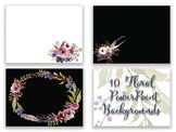Floral PowerPoint backgrounds | Watercolor PowerPoint slid