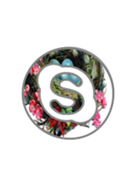 Floral Social Icons