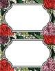Floral Sticker Labels (Blank)