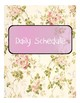 Floral Sub Binder Covers