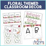 Floral Themed Classroom Decor