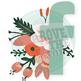 Floral Vector Social Media Icons