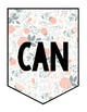 Floral We Can Do Hard Things Banner