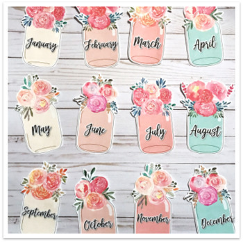 Floral and Shiplap Birthday Display