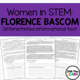 Florence Bascom - Women in STEM Differentiated Informational Text
