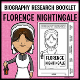 Florence Nightingale Biography Research Booklet