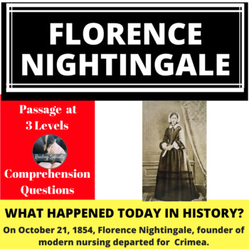 Florence Nightingale Differentiated Reading Passage October 21