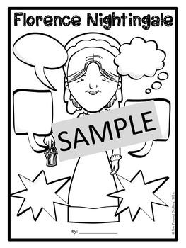 Florence Nightingale Graphic Organizers